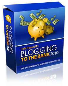 Blogging It To The Bank