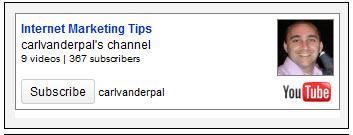 Youtube Subscription Widget For WordPress